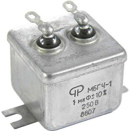 Металлобумажные конденсаторы