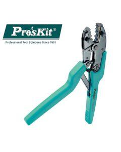 1PK-3003F Pro'sKit Клещи без сменных губок с трещоточным механизмом