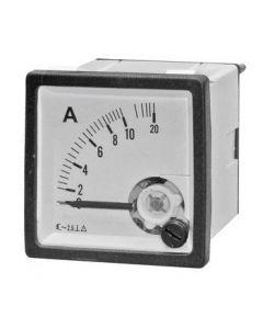 Амперметр 10А 50гц (48х48)
