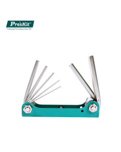 8PK-021N Pro'sKit Набор ключей-шестигранников (7шт.,складной)