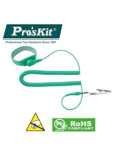 8PK-611 Pro'sKit Браслет антистатический (провод L=3м)