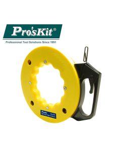 DK-2032 Pro'sKit Проволока для протяжки кабеля в катушке (L=15м)