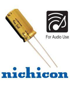 220мкФ 50В (12,5х20) FG Fine Gold Конденсатор электролитический Nichicon