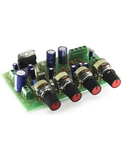 K162 УНЧ TDA7377 стерео 2х15Вт с сабвуфером 30Вт