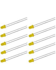 NLED3Y Набор желтых светодиодов 3мм (10шт)