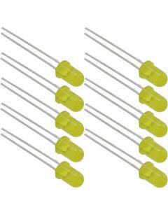 NLED5Y Набор желтых светодиодов 5мм (10шт)