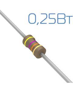 0,33 Ом 0,25Вт 5% резистор