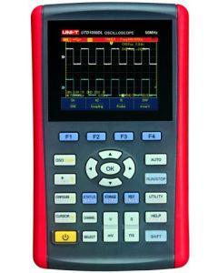 UTD1050DL портативный двухканальный осциллограф 50 Мгц
